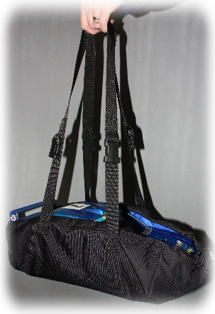 carriers can be used with or without pouches